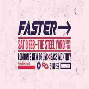 Faster DnB - London's Newest Drum and Bass Monthly in London on 9 Feb