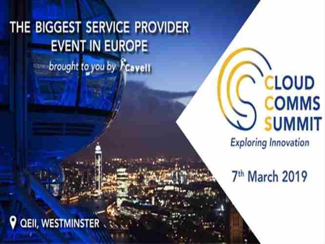 Cloud Comms Summit London 2019 in London on Thursday, March 7, 2019