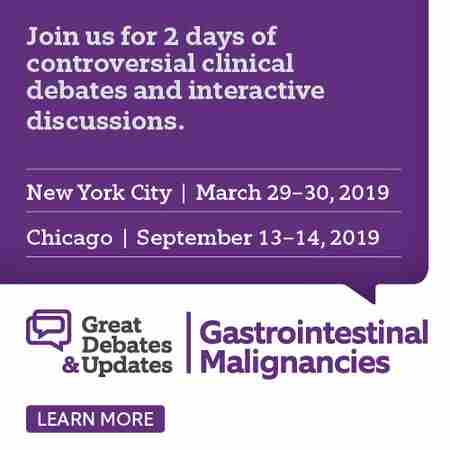 Great Debates & Updates in Gastrointestinal Malignancies in New York on Friday, March 29, 2019