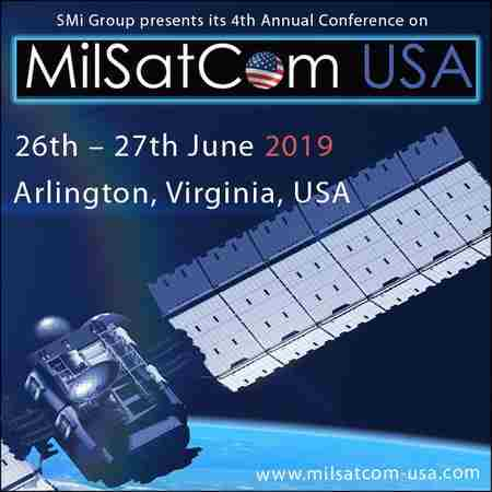 MilSatCom USA 2019 in Arlington on Wednesday, June 26, 2019