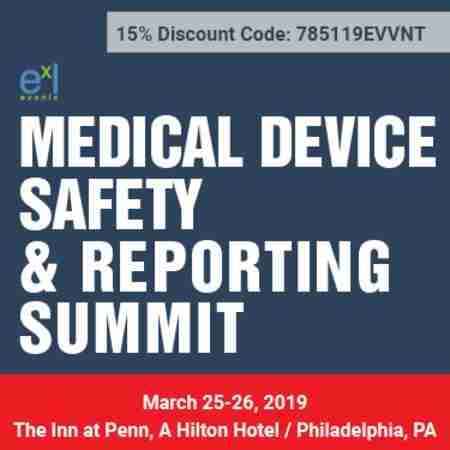 Medical Device Safety & Reporting Summit in Philadelphia on 25 Mar