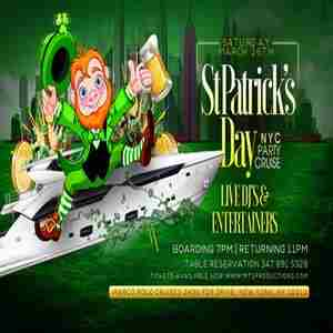 St Patrick's Day NYC Party Cruise in New York on Saturday, March 16, 2019