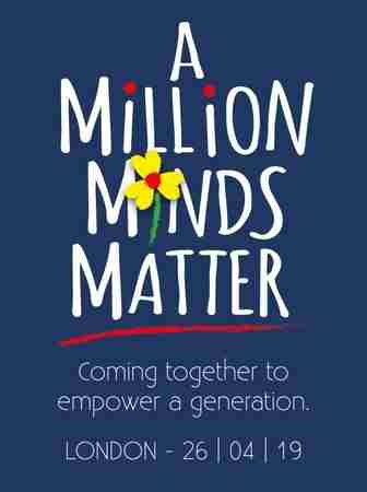 A Million Minds Matter in London on 26 Apr