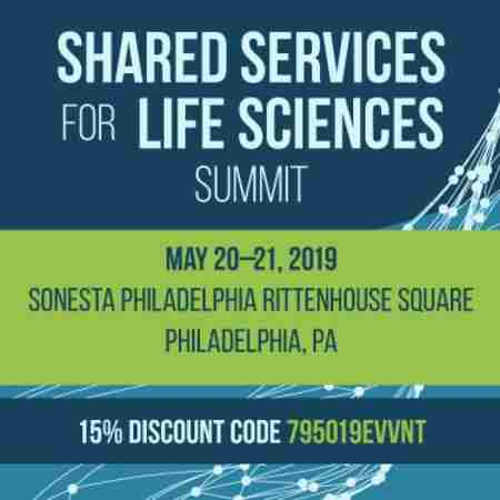 Shared Services in Philadelphia on 20 May