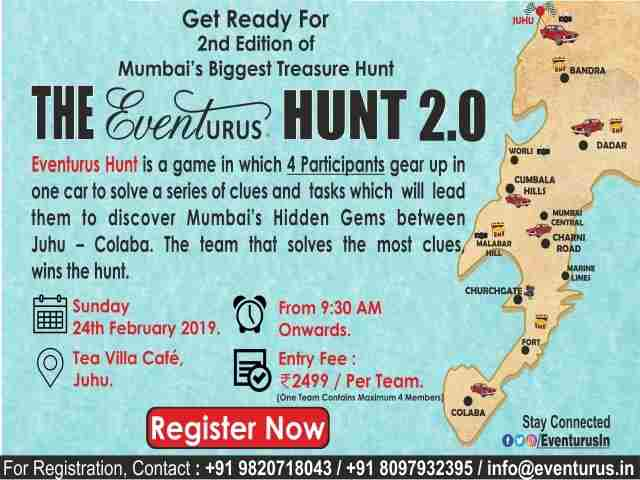 The Eventurus Hunt 2.0. in Mumbai on 24 Feb