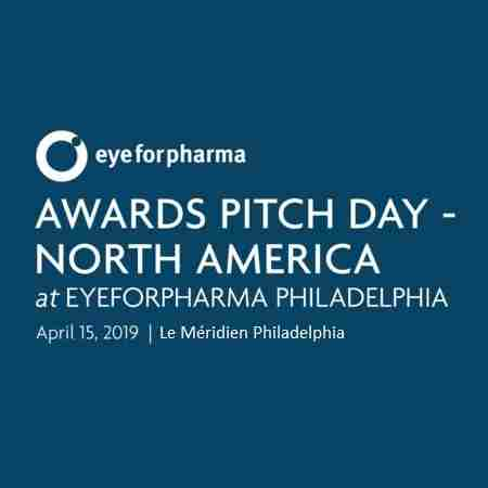 eyeforpharma Awards Pitch Day North America, April 15 2019, Philadelphia in Philadelphia on 15 Apr