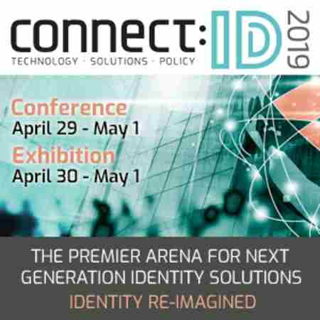 connect:ID 2019 | The Identity Technology Event | April 29 - May 1 in Washington, DC on 29 Apr