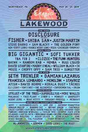 Elements Lakewood Camping Festival in Lakewood on 24 May