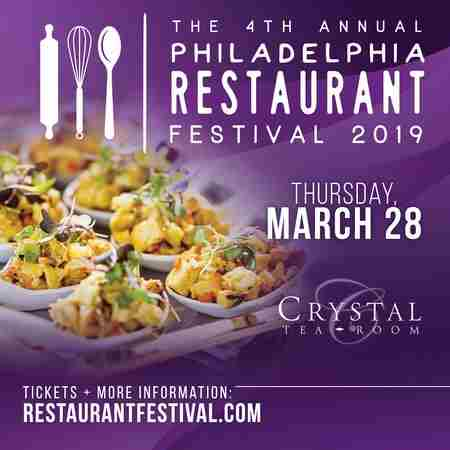The Philadelphia Restaurant Festival in Philadelphia on 28 Mar
