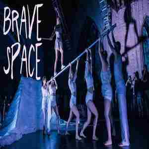 Brave Space-a pop-up circus show under a blanket fort in Philadelphia on 24 Mar