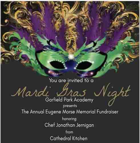 Garfield Park Academy Hosts Mardi Gras Gala Event in Willingboro on 12 Apr