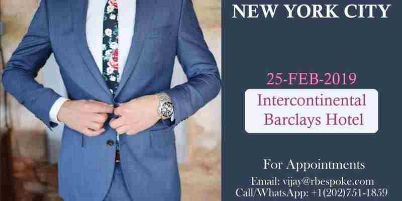 Men's Custom Suits & Tailored Clothing in New York on 25 Feb