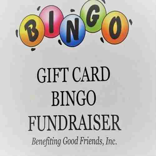 Gift Card Bingo in Morrisville on 13 Apr