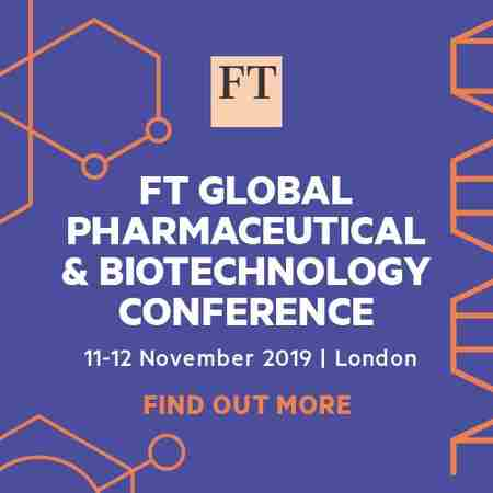 FT Global Pharmaceutical and Biotechnology Conference London 11-12 Nov