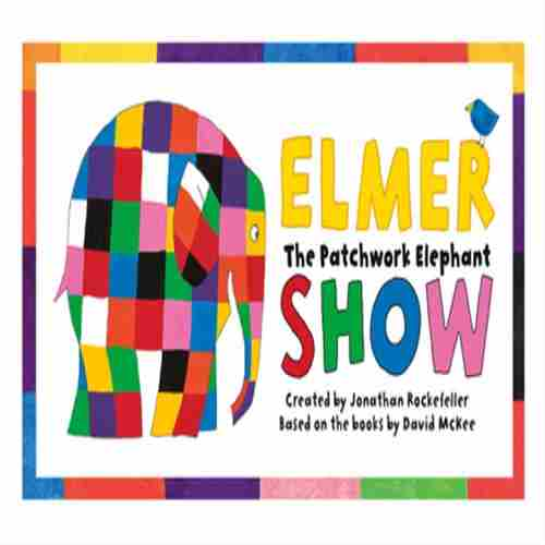 Elmer the Patchwork Elephant in Southend-on-Sea on Sunday, April 14, 2019