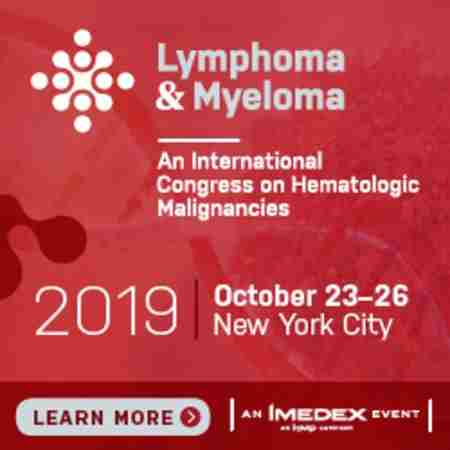 The Lymphoma & Myeloma Congress in New York on 23 Oct