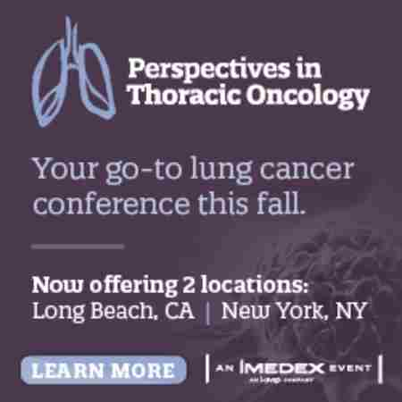 Perspectives in Thoracic Oncology, New York City in New York on 18 Oct