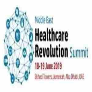 Middle East Health Revolution Summit in Abu Dhabi on 18 Jun