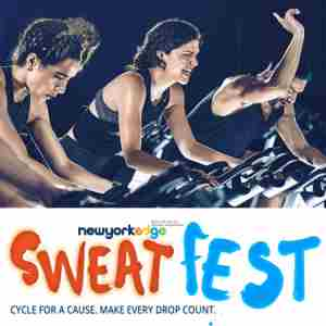 New York Edge Young Professionals SweatFest, Flywheel Sports in New York on 23 Mar