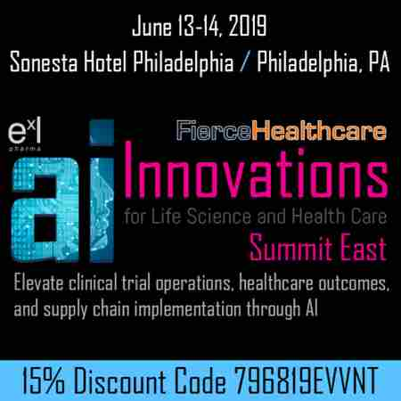AI Innovations for Life Science and Health Care Summit East in Philadelphia on 13 Jun