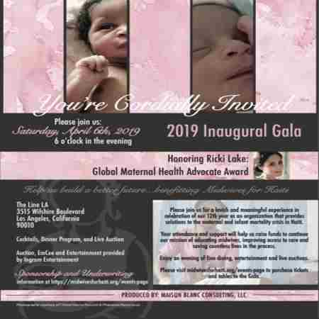 Midwives For Haiti 2019 Inaugural Gala