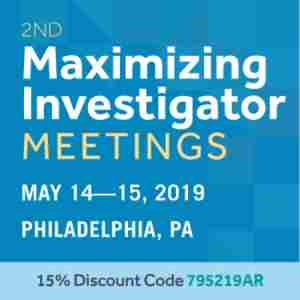 2nd Maximizing Investigator Meetings in Philadelphia on 14 May