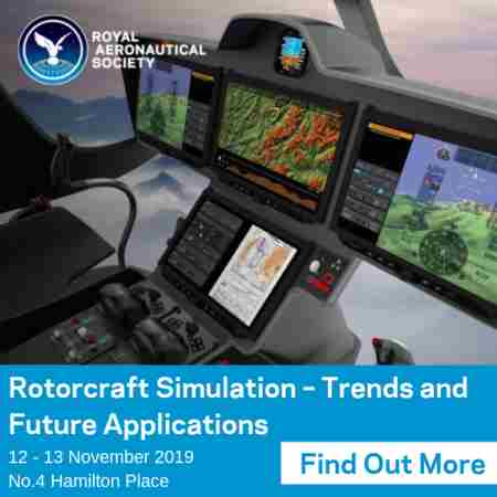 Rotorcraft Simulation - Trends and Future Applications in London - Nov 2019 in London on 12 Nov