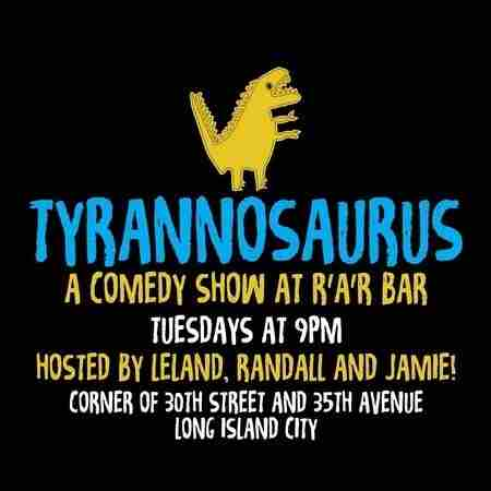 Tyrannosaurus In New York in Queens on Tuesday, March 19, 2019