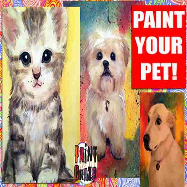 PAINT YOUR PET BENEFITING ANIMAL WELFARE SOCIETY OF CAPE MAY COUNTY in Middle Township on 27 Apr