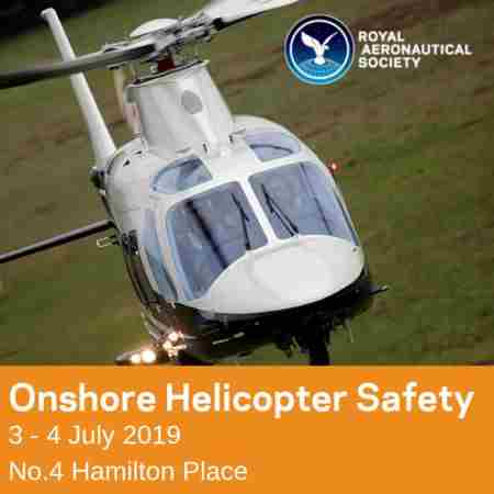 Onshore Helicopter Safety in London - 3/4 July 2019 in Greater London on 3 Jul