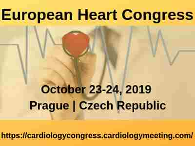 European Heart Congress in Prague on 23 Oct