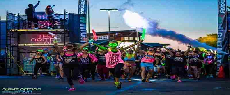 2019 Night Nation Run Washington, D.C. in Landover on Saturday, June 15, 2019