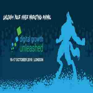 Digital Growth Unleashed London 2019 in Greater London on 16 Oct