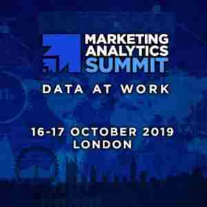 Marketing Analytics Summit London 2019 in London, on 16 Oct