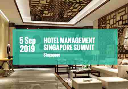 Hotel Management Singapore Summit in Singapore on 5 Sep
