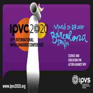 IPVC 2020: 33rd International Papillomavirus Conference in Barcelona on 23 Mar