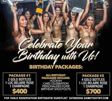 Celebrate your Birthday at Fusion Lounge Thursday Ladies NIght Out Openbar in Queens on 4 Apr