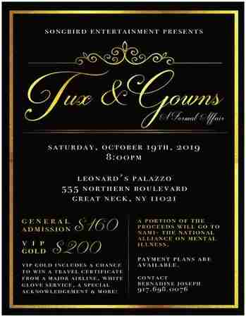 TUX And Gowns in Great Neck on 19 Oct