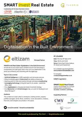 SMARTInvest Real Estate: Digitalisation in the Built Environment in Dubai on 29 Apr
