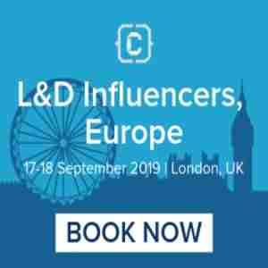 L&D Influencers, Europe in London on Tuesday, September 17, 2019