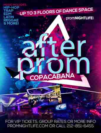 Copacabana After Prom Times Square Events in New York on Wednesday, June 26, 2019