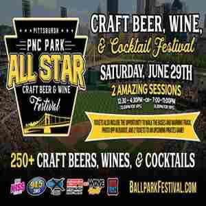 The Pittsburgh All-Star Craft Beer, Wine, and Cocktail Festival in Pittsburgh on 29 Jun