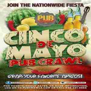 3rd Annual Cinco de Mayo Fiesta Cantina Pub Crawl San Francisco - May 2019 in San Francisco on 5 May