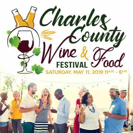 Charles County Wine and Food Festival in La Plata on 11 May