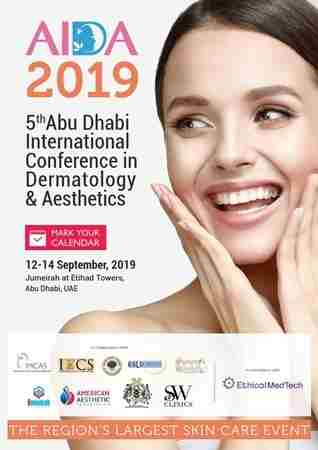 5th Abu Dhabi International Conference in Dermatology and Aesthetics (AIDA) in Abu Dhabi on 12 Sep