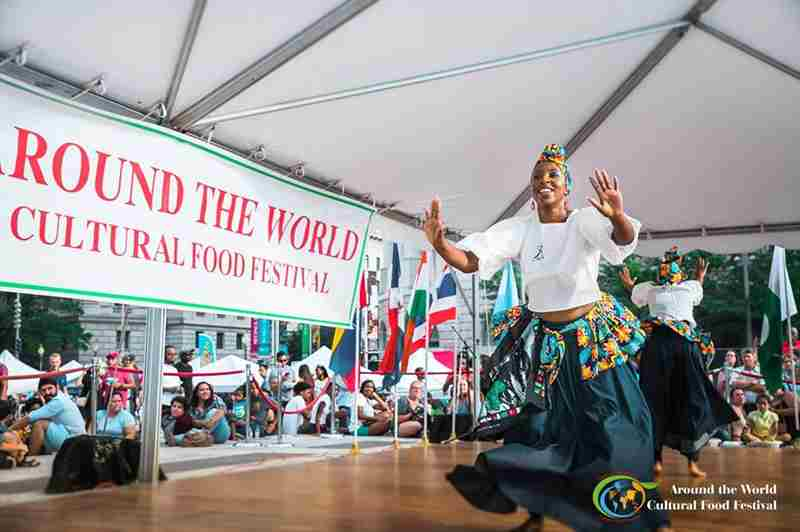 2019 Around the World Cultural Food Festival in Washington on 17 Aug