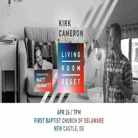 Kirk Cameron Live in New Castle in New Castle on 26 Apr
