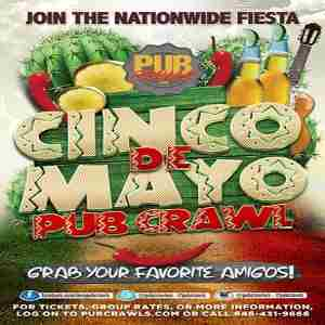 3rd Annual Cinco de Mayo Pub Crawl in New York City - May 2019 in New York on 5 May