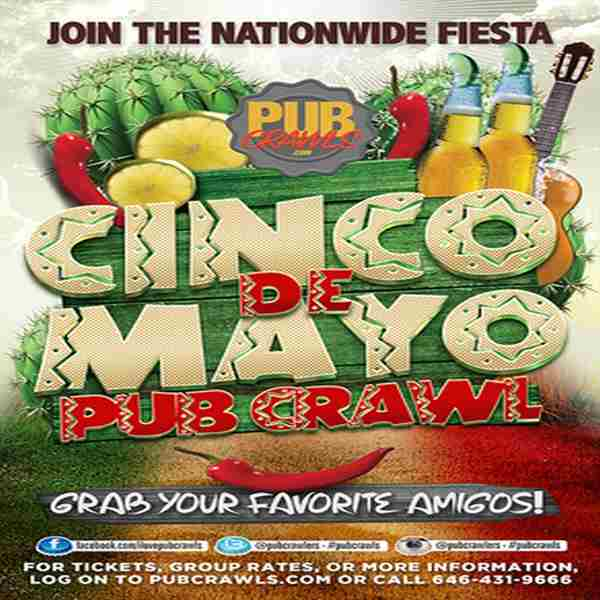 2nd Annual Cinco de Mayo Pub Crawl Arlington - May 2019 in Arlington on Sunday, May 5, 2019