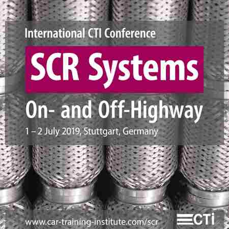 SCR Systems - with included session concerning Off-Highway in Stuttgart on 1 Jul